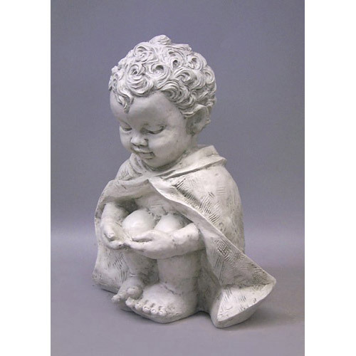 Pondering Baby St Francis 14