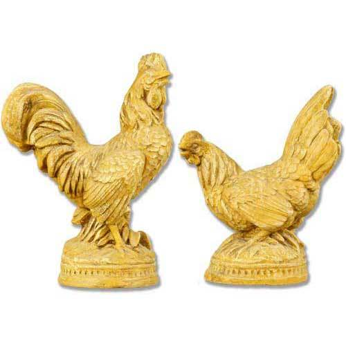 French Rooster Pair
