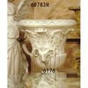Ram Head Urn (2 Sides) 29 H