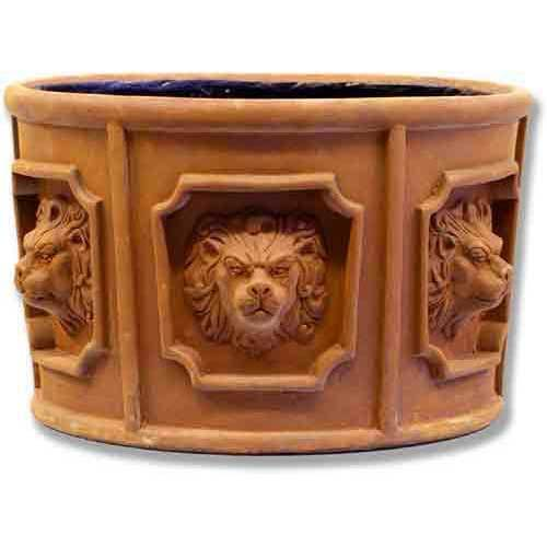 Six Lion Head Urn