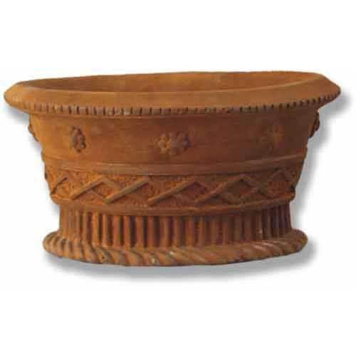 Oval Basket 9.5 H  (R)