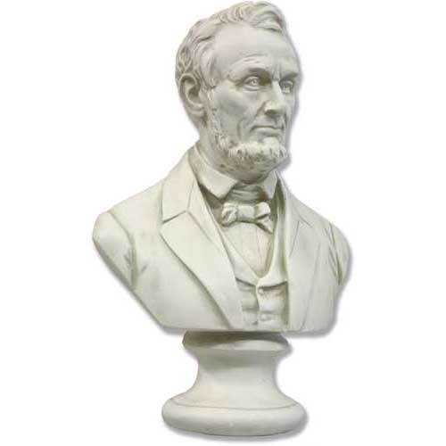 Lincoln Bust Sm   12 H