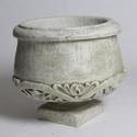 Round Pot Under Ornate 20