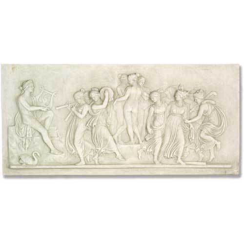 Apollo And Muse Frieze
