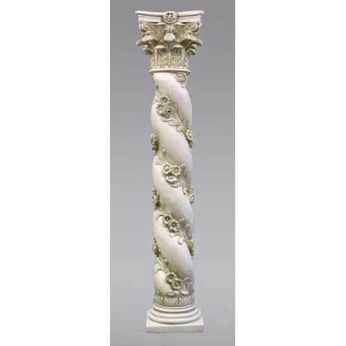 Twisted Rose Pedestal