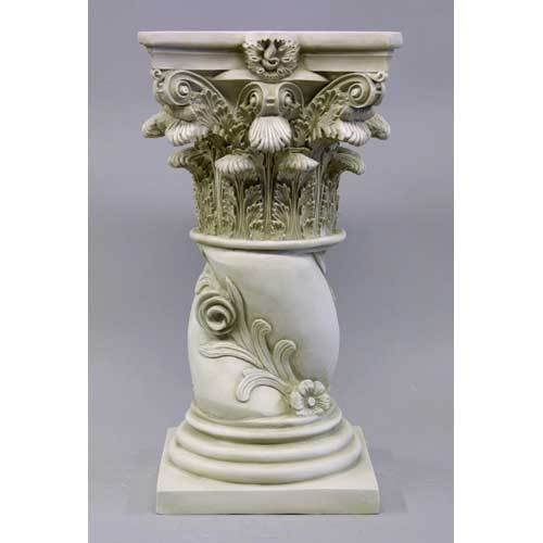 Twisted Rose Pedestal