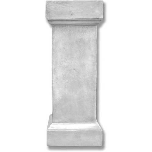 Weathered Square Pedestal 42