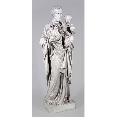 "Saint Joseph And Child 49"" H"