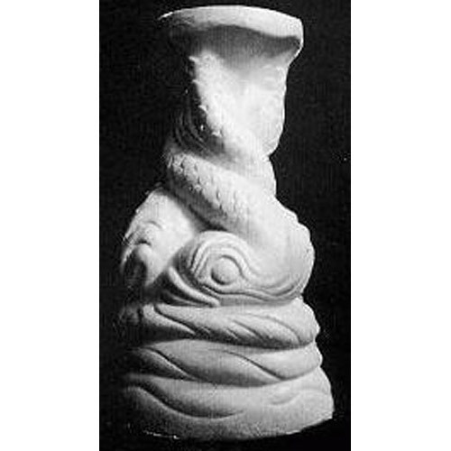 Twisted Dolphin Pedestal