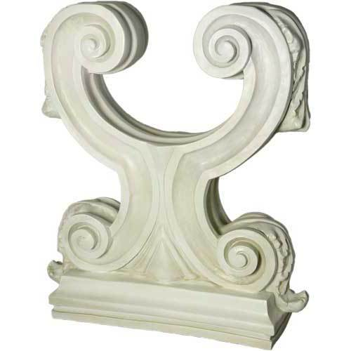 "Acanthus Double Leaf Table Base 29""h"