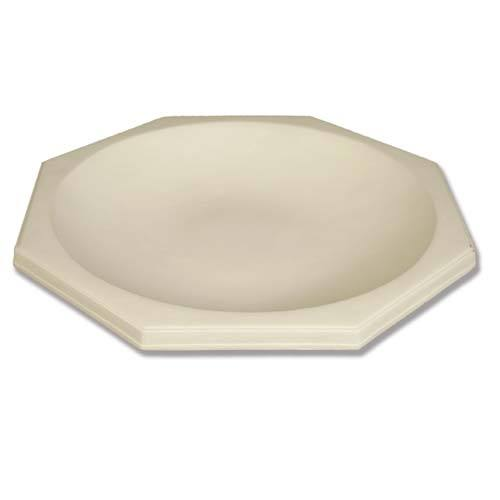 Octagonal Ground Birdbath 18