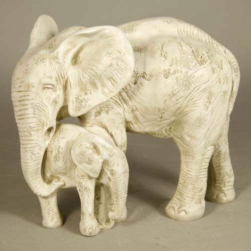 Bull Elephant & Calf 15
