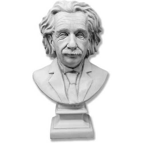 """Einstein Bust 27""""H"""