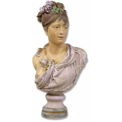 Victorian Woman Bust