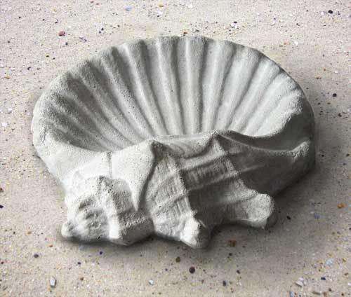 Shell Birdbath 15 W