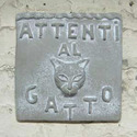 Beware Of Cat Plaque