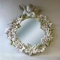 Round Cherub Mirror Frame 30