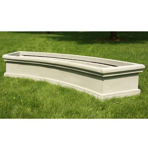 High Quality Waldorf Curved Planter U0027 Elements Of Home Indoor And Outdoor, Garden Idea Photo Gallery
