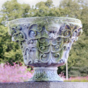 Wide Greenman Planter