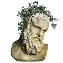 Hercules Bust Planter