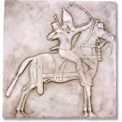 Assyrian Horseman Frieze