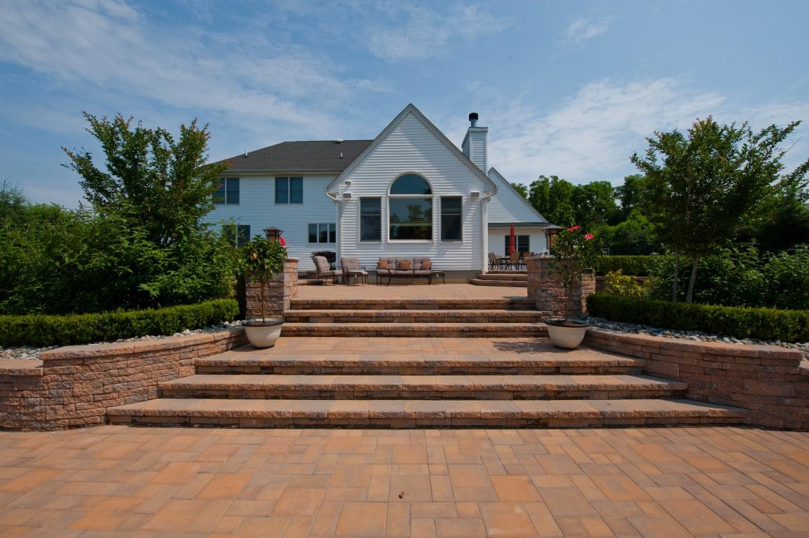 elite landscapes pavers inc has a systematic design and build process that results in high quality functional patio design installations - Multi Level Patio Designs