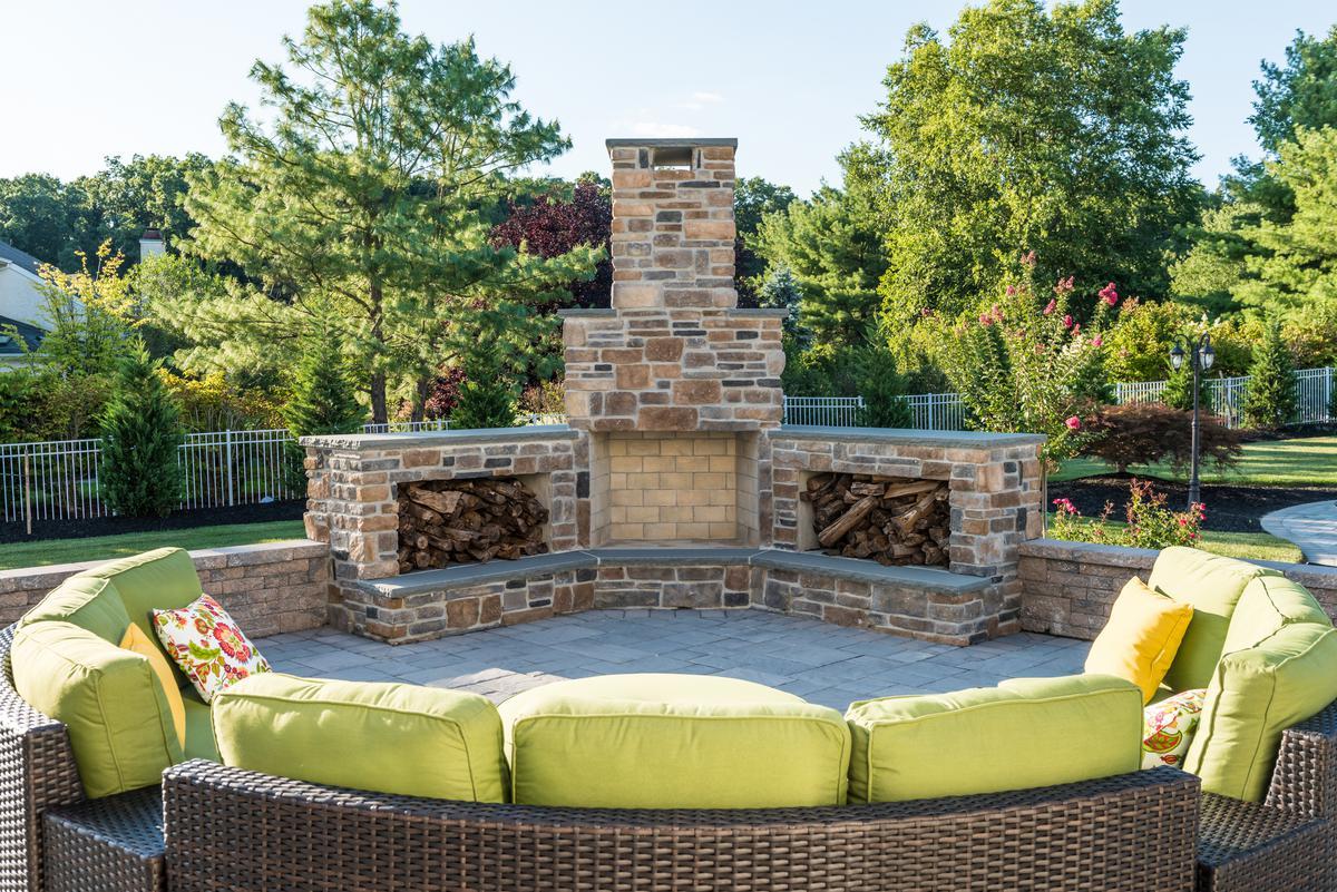 outdoor fireplace u0026 fire pit builders u2013 elite landscapes