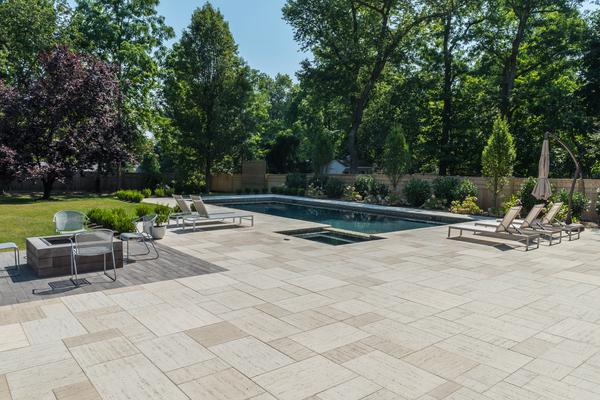 Synthetic Slabs Are Priced Higher Than A Brick Paver Patio, However, They  Are Less Expensive Than A Natural Stone Patio.