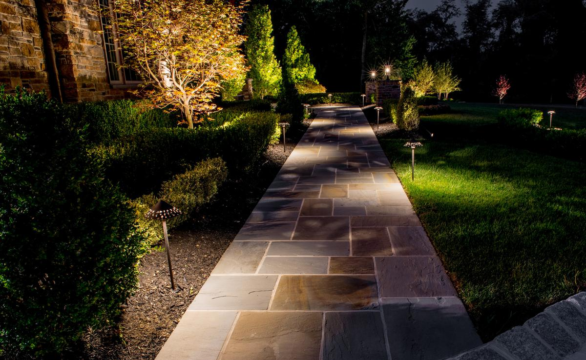 Outdoor lighting audiovideo elite landscapes landscape lighting and patio lighting workwithnaturefo