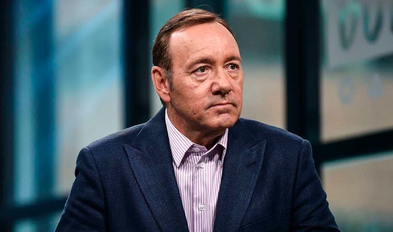 Retiran cargos de agresión sexual contra el actor Kevin Spacey en EEUU
