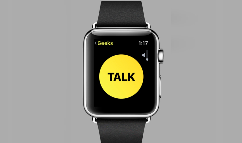 Apple bloqueó 'Walkie Talkie' de sus relojes