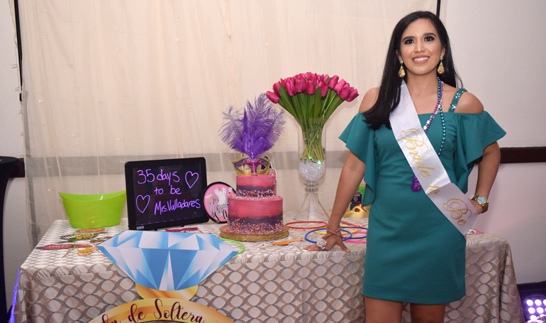 Bridal shower para Ivana Coto