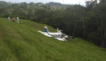 Tres muertos en accidente de avioneta en Colombia