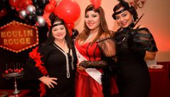 Bridal Shower al estilo Moulin Rouge para Molly