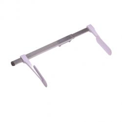 Infantometro en aluminio de 35 a 80 cms Cat. BAM-IP-AL2  Bame