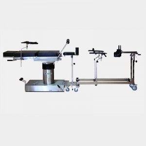Mesa quirúrgica universal hidráulica con tractor de ortopedia Cat BAM-160BDT Bame