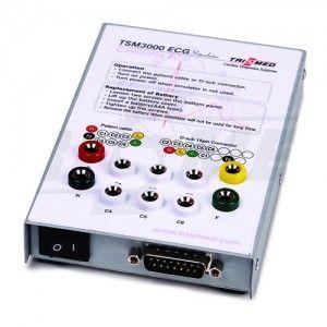 Simulador ECG de 12 derivaciones cat TIS-TSM3000 Trismed Co.