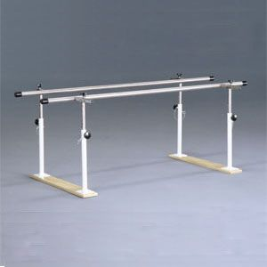 Barras paralelas 3 metros base de madera Cat. DYN-PB10F1