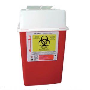 Recolector De Polipropileno Para Punzocortantes Capacidad Volumen: 3.75 A 4.75 Lts. Cat A1C-PC-4 A1 Contenedores