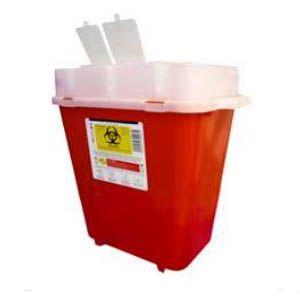 Recolector De Polipropileno Para Punzocortantes Capacidad Volumen: 7.50 A 9.40 Lts. Cat A1C-PC-8 A1 Contenedores