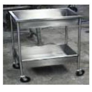 Carro para distribución de muestras de acero inoxidable Cat. HEL-HM267-1 Herlis