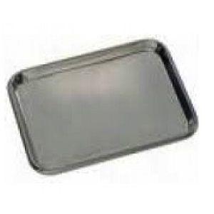 Charola para mesa de mayo cal. 24 de acero inoxidable Cat PRL-5130-B Prolar