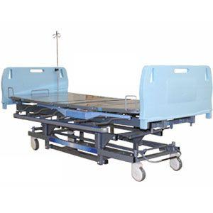 Cama para hospital eléctrica para cuidados intensivos con accesorios Cat AMP-240B Ampesa