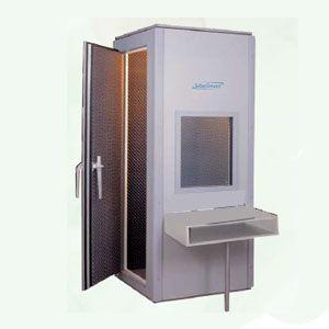 Cabina clínica sonoamortiguada 135x135x215 cm modelo S40-E Cat SIB-01640 Sibelmed