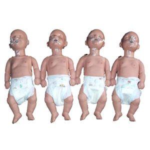 Maniquí para RCP Sani Baby 4 pack  (SB26479) Cat SIM-PP02124 Nasco - Simulaids
