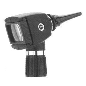 Otoscopio halógeno de 3.5V con iluminador de garganta (Sin mango) Cat. WEA-20000