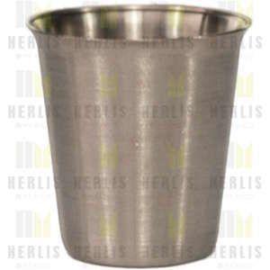 Vaso para medicamentos de 140 ml acero inoxidable Cat. HEL-HM263 Herlis