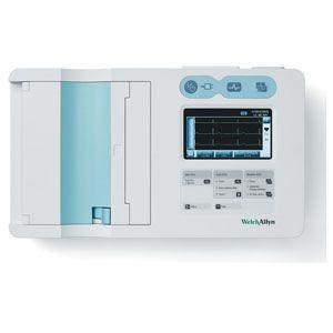Electrocardiografo CP50 plus de 3 canales con electrodos reusables Cat WEA-CP50AP-3ES1 Welch Allyn