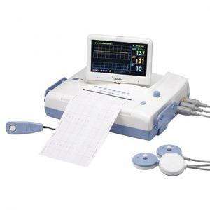 Cardiotocógrafo con pantalla LCD a color de 7