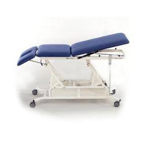 Mesa eléctrica para tratamiento 3 secciones color aqua Cat. DYN-HLT3TL Dynatronics